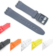 Replacement Resin Strap for Standard SWATCH- High Quality - 7 Colours