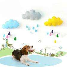 3D Removable Cloud Raindrop Wall Stickers Decals Mural Baby Kids Room DIY Decor