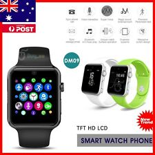 DM09 Bluetooth Smart Watch for Samsung iPhone ios Android Phone with Camera SIM