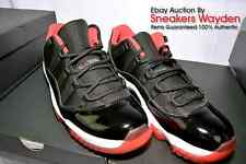 NIKE AIR JORDAN 11 XI LOW BRED TRUE RED 2015 DEADSTOCK 100% AUTHENTIC FREE SHIP