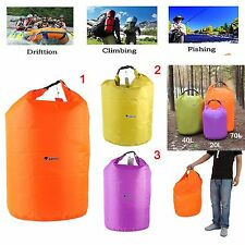 New Outdoor Waterproof Canoe Rafting Camping Hiking Backpack Dry Bag Sack Pouch