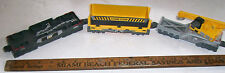 THREE (3) Freight Car CAT Toy Train Car Set by TOY STATE - CHEAP