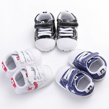 Baby Crib Non-slip Casual Shoes Sneaker Boys Girls Infant Nowborn-18 Months #BZK