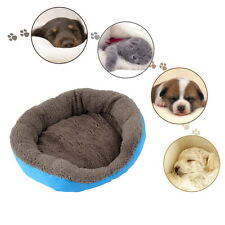 5 Colors Soft Pet Dog Puppy Cat Cozy Warm Nest Bed House with Plush Mat Pad BE