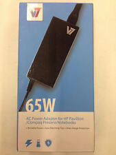 V7 Universal 65W Laptop AC Power Charger w/ 5 tips for HP/Compaq AC2065H5-2N