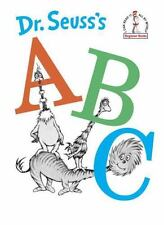 Beginner Books: Dr. Seuss's ABC by Dr. Seuss (1960, Hardcover)