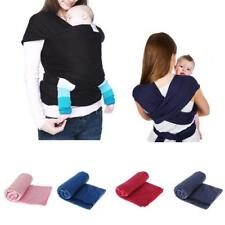 Infant Newborn Baby Sling Stretchy Wrap Baby Carrier Backpack for Breastfeeding