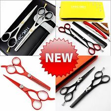 Professional Hairdressing Scissors Salon Hair Cutting Barber Scissors Shears 6""