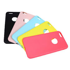 Candy Color Soft Silicon Cover Slim Silica Gel Phone Case for Apple iPhone 6/6S
