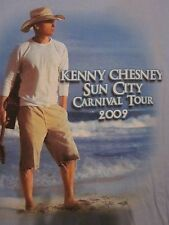 KENNY CHESNEY SUN CITY CARNIVAL TOUR 2009 Adult M or XL Double-Sided Tee