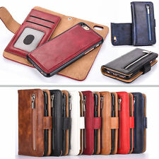 Luxury Accessories mobile phone shell Wallet Flip PU Leather with Purse Zipper