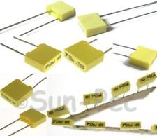 Polyester Film Capacitor CBB 5% 63v / 100v / 400v options 0.001uf-2.2uf 5-40pcs