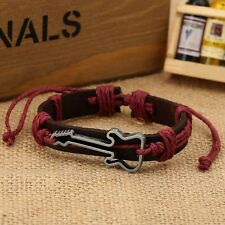 Wristbands Antique Rope Adjustable Bangles Jewelry Guitar Bracelets Charm