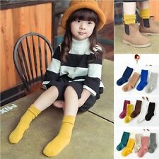 Popular For Age Years4-10 Cartoon Korean Style Toddlers Kids Girls Socks New