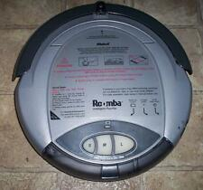 iRobot Roomba Intelligent Floorvac Original 2002 cleaned tested working