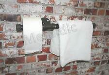 """INDUSTRIAL TOILET ROLL + TOWEL RAIL Combined  3/4"""" Pipe - Small Bathroom WC"""