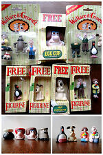 Wallace & Gromit Collectables - Figurines Playhouse Characters Egg Cup Salt Pot.