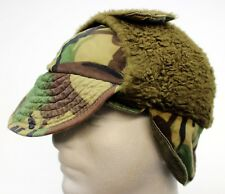 GENUINE BRITISH ARMY FALKLANDS COLD WEATHER FIELD HAT WOODLAND CAMO