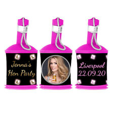 Personalised Photo L-PLATES Hen Night Popper WRAPPERS ONLY Party Bag Favour Gift