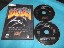 DOOM COLLECTOR'S EDITION PC FPS SHOOTER ( ultimate doom doom II final doom )