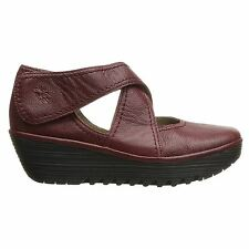 Fly London Rafe657Fly Wedge Red Womens Shoes