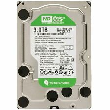 "Western Digital Caviar Green 3.0TB Internal 5400 RPM 3.5"" (WD30EZRX) HDD"