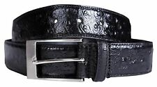 New Mens Studded Texture Fashion Genuine Leather Pin Buckle Belts S-3XL