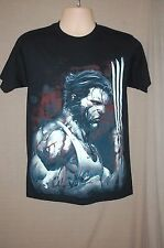 Marvel Wolverine Blood & Steel Graphic T-Shirt ~ Black ~ 100% Cotton ~ NWT