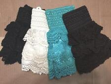 Kids Lace Shorts Crochet Stretch Skorts Baby Toddlers Girls Size 2-5 and 5-8