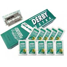 DERBY EXTRA DOUBLE EDGE RAZOR BLADES OF 5,10,20,25,50,100,200,500,1000
