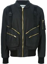 Moschino Couture Jeremy Scott Ready To Bear Outwear Buckled Strap Bomber Jacket