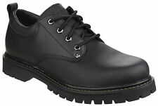 Skechers Tom Cats Mens Oxford Quality Leather Upper Lace up Cushion Insole Shoe