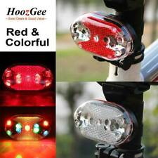 Bright Bike Bicycle Cycling Rear Light Tail Back Lamp 9 LED 7 Modes Flashing New