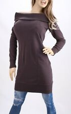 Victoria's Secret Plush & Lush Off The Shoulder Fleece Tunic Sweaterdress
