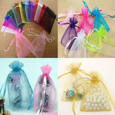 Wedding Favor 50pcs Jewellery Candy Bags Packing Pouches Gift Bags Organza