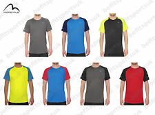 MORE MILE MENS DRY FIT COOL TECH HEAT SHORT SLEEVE RUNNING GYM TEE T SHIRT TOP
