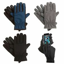 NWT Mens ISOTONER Matrix Active Nylon Gloves with smarTouch Technology L XL