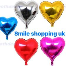 LOVE HEART32INCH FOIL BALLOON. VALENTINES BIRTHDAY PARTY BALOONS EVENTS