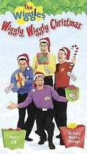 THE WIGGLES Wiggly, Wiggly Christmas VHS Tape. Ships Free