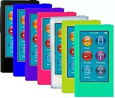 ColorYourLife 7pcs Soft Silicone Gel Skins Cases Covers for New iPod Nano 7th