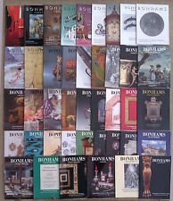 SELECTION OF BONHAM'S AUCTION CATALOGUES 1992 TO 1999