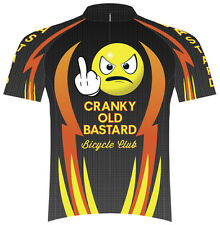 SALE $39.95 Primal Wear Cranky Old Bastard Cycling Team Jersey Mens bicycle