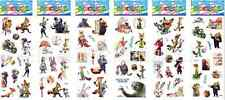 sticker lot Wholesale 3D cartoon small PVC Stickers lot Children's Party Gifts