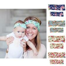 Mommy and Baby Girls Flower Headband Hair Band Women's Headwear Hair Accessories