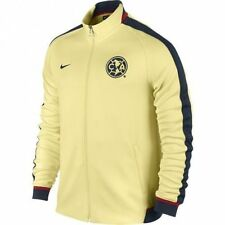 NIKE CLUB AMERICA AUTHENTIC N98 TRACK JACKET Yellow/Navy.