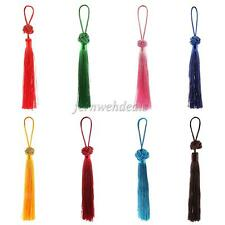 New Embroidered Chinese Knot Tassels Pendant Long Good Luck