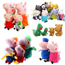 All Peppa Pig and Friends Beanies and Buddies - Soft Plush Teddy Toys 2016NEW