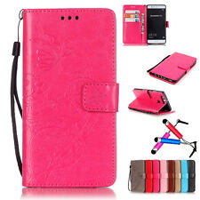 2017 Magnetic Flip Cover Stand Wallet Leather Case Skin For Huawei Ascend Series