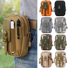 Tactical Molle Pouch Belt Waist Fanny Pack Bag Pocket Military Waist Bags US D5