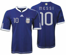 ADIDAS LIONEL MESSI ARGENTINA AWAY JERSEY FIFA WORLD CUP SOUTH AFRICA 2010.